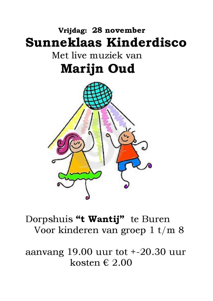kinderdisco wantij  31 oktober